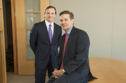 Portfolio Managers Geoffrey S. Stewart, CFA and Sean M. Thorpe of the Aristotle International Equity Fund (ARSFX). (Photo: Business Wire)