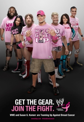 WWE Superstar John Cena will serve as the official Grand Marshal for the 2014 Susan G. Komen Global Race for the Cure(R) (Photo: Business Wire)