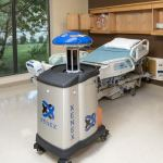 The Xenex pulsed xenon UV light room disinfection system has been repeatedly proven effective against C. diff and MRSA in the laboratory and in patient outcome results at hospitals utilizing Xenex's germ-zapping robots. (Photo: Business Wire)