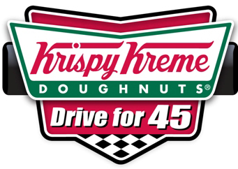 For six consecutive years, fans of Krispy Kreme doughnuts and coffee have helped to provide life-changing summer camping experiences for children with chronic or serious illnesses through donations to the Krispy Kreme Drive for 45 Campaign. Benefiting the Victory Junction Camp in Randleman, NC, the 45-day philanthropic effort runs April 5 through May 19 at participating Krispy Kreme US location. Visit Krispy Kreme.com for participating locations and program details. (Graphic: Business Wire)