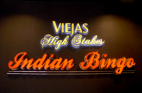 The new Viejas Bingo Hall opened April 4, 2014 at Viejas Outlets, directly across the street from Viejas Casino east of San Diego. (Photo: Business Wire)