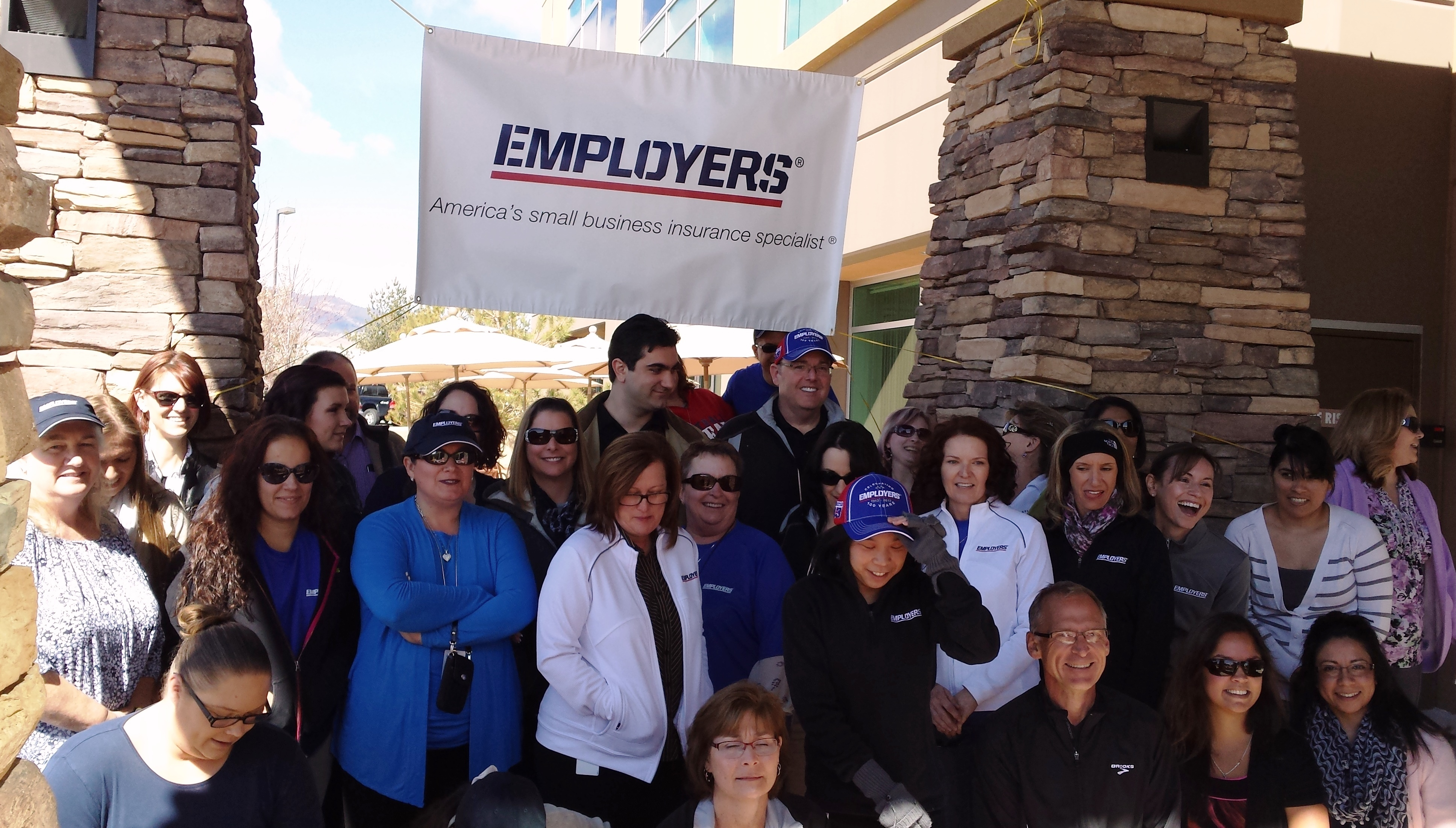 Reno, Nev.-based EMPLOYERS® (NYSE:EIG) has been recognized by the American Heart Association as a Fit-Friendly Worksite. (Photo: Business Wire)