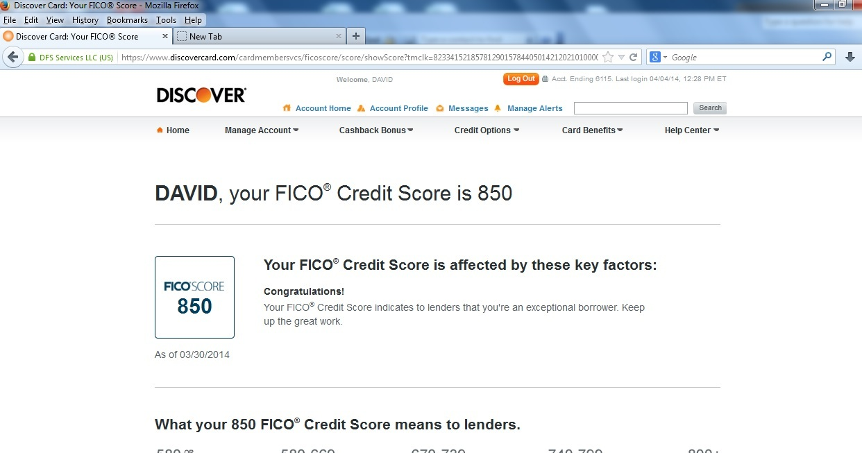 A perfect and genuine fico 850 score business wire full size small preview thumbnail magicingreecefo Choice Image