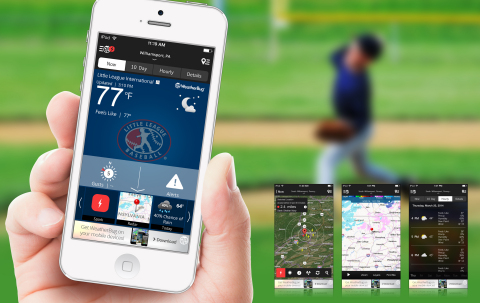 Little League(R) Baseball and Softball and WeatherBug teamed up to launch the Little League WeatherB ...