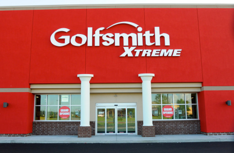 Golfsmith Xtreme store front in Myrtle Beach, SC (Photo: Business Wire)