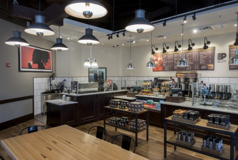 Peet's Coffee & Tea announces first retail launch in the Washington D.C. area with the opening of flagship store at 1701 Penn and additional 22 planned. (Photo: Business Wire)