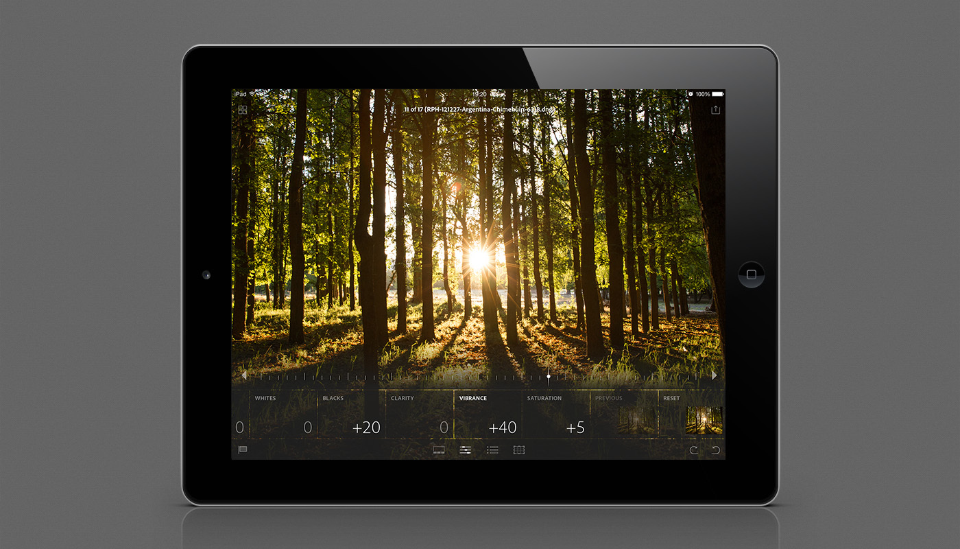 Edit everything from smartphone photos to raw images from DSLRs using Smart Previews. (Photo: Business Wire)