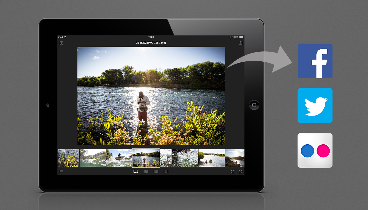 Easily share photos on social networks. (Photo: Business Wire)