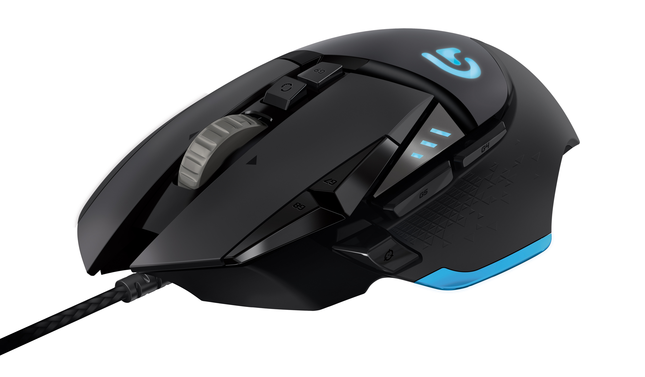 The Logitech G502 Proteus Core Tunable Gaming Mouse (Photo: Business Wire)