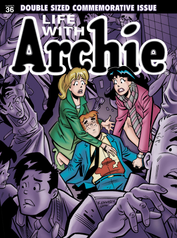 LIFE WITH ARCHIE #36 cover/Courtesy Archie Comics