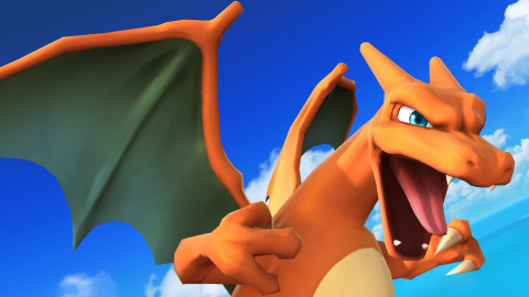 After repeated appearances in the Super Smash Bros. series, Charizard finally joins the roster as a selectable character. (Graphic: Business Wire)