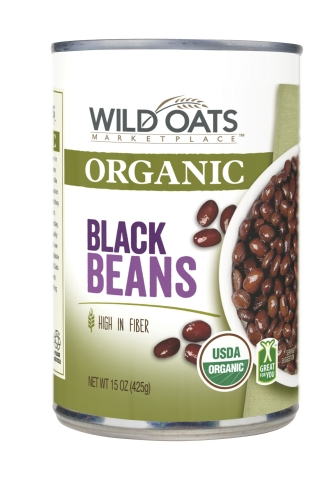 Wild Oats Marketplace Organic Black Beans (Photo: Business Wire)