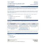 IBS-C Fact Sheet