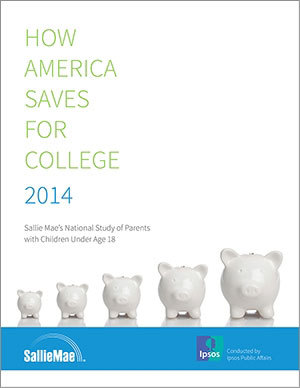 "College savings rebound, says the new ""How America Saves for College"" study from Sallie Mae and Ipsos. The report takes a detailed look at parent's views on college and savings habits. (Graphic: Business Wire)"