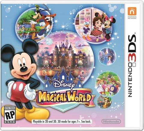 Disney Magical World box art. (Photo: Business Wire)