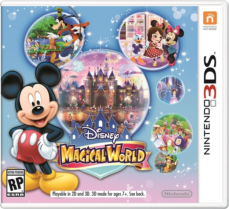 Disney Magical World box art. (Photo: Business Wire)