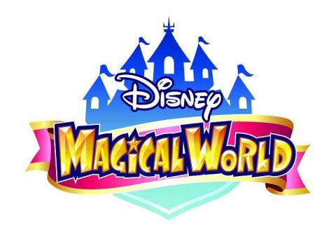 Disney Magical World logo.