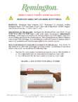 Product Safety Warning and Recall Notice