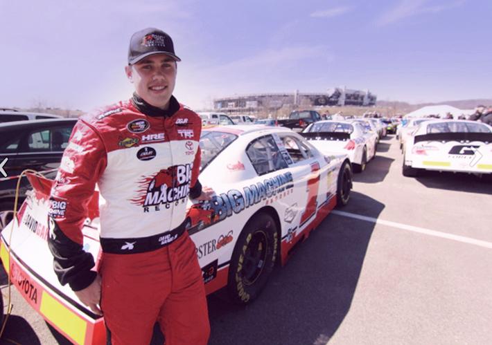 Coca-Cola Award-winner Big Machine Records driver David Garbo Jr. at Bristol Motor Speedway. (Photo: Business Wire)