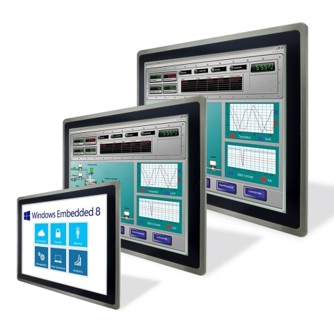 Industrial Panel PC and Operator Panel Powered by Windows Embedded 8 with an Intelligent HMI Systems ...