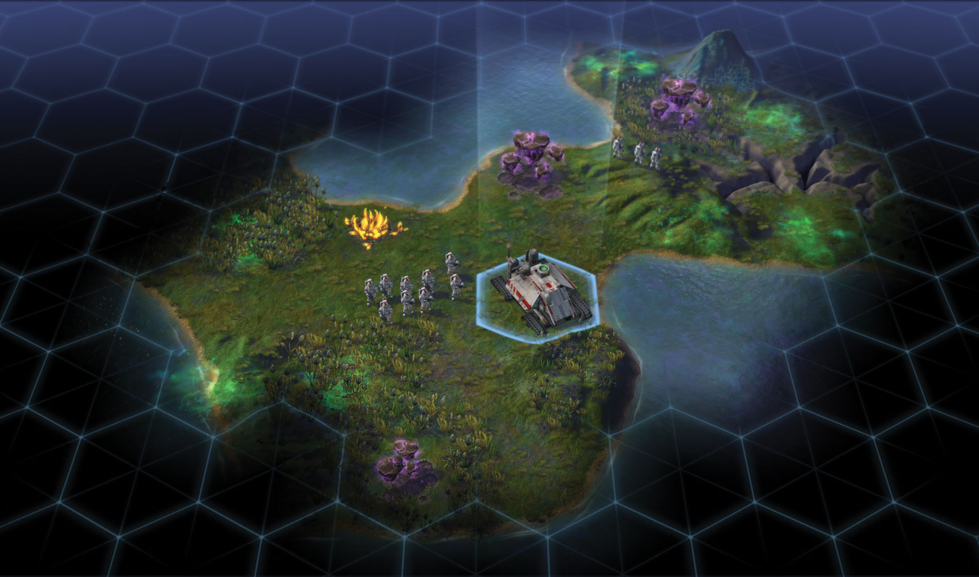 One of the new colonist units found in Sid Meier's Civilization: Beyond Earth (Photo: Business Wire)