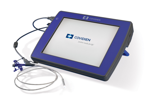 The Covidien Integrated Real-time Imaging System (IRIS) technology streams a real-time video back to ...
