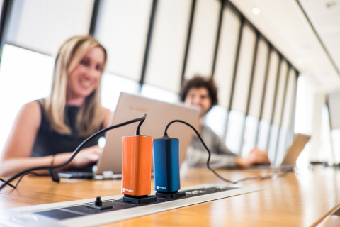 Four times smaller and six times lighter than today's laptop adapters, the FINsix Dart is a full-pow ...