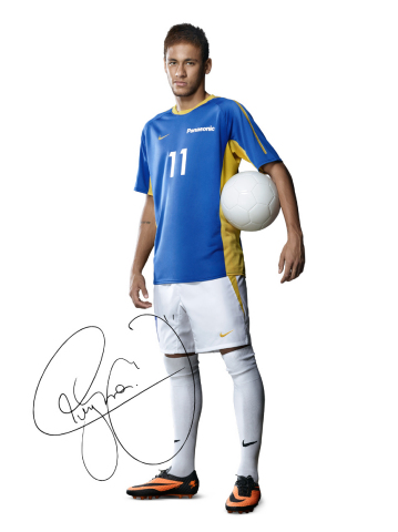 Panasonic's Global Ambassador, Neymar Jr. (Photo: Business Wire)
