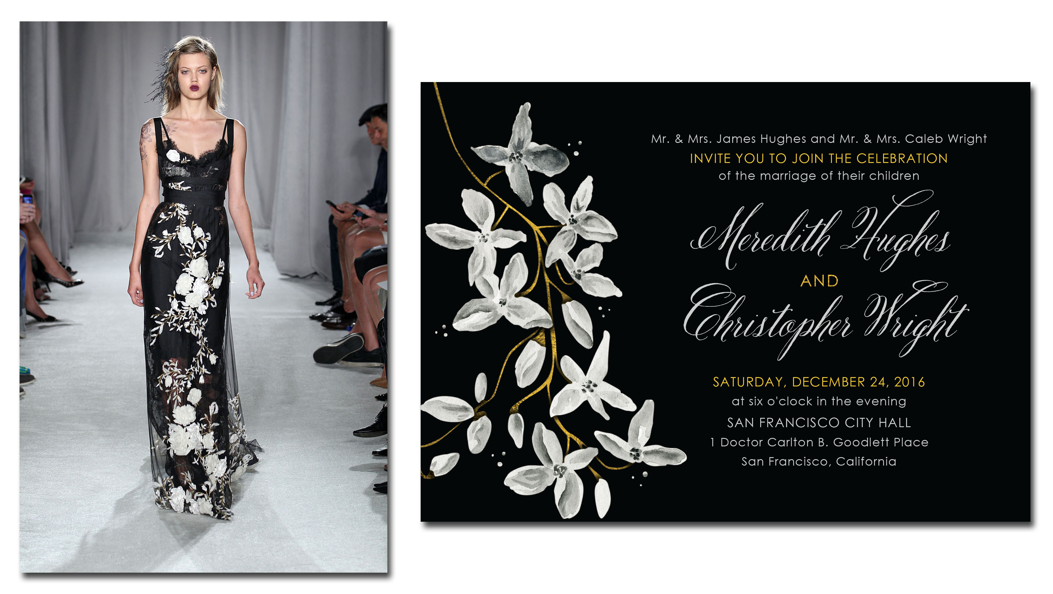 Wedding Paper Divas and Marchesa Introduce Stunning New Bridal ...