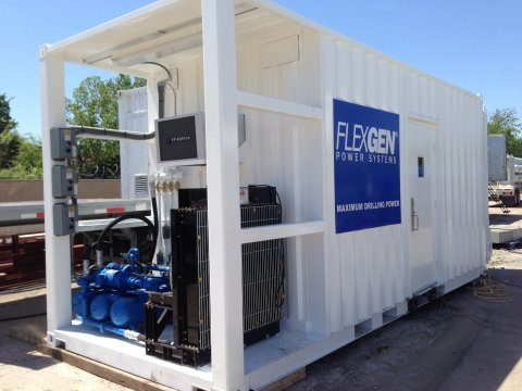 Ioxus announces they have been selected by FlexGen(R) Power Systems to deliver high-powered ultracapacitors for use in FlexGen's Solid State Generator drilling products. (Photo: Business Wire)