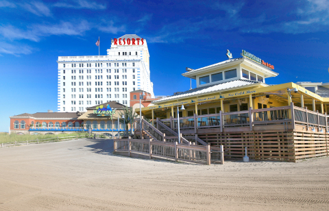 Resorts Casino Hotel celebrated a landmark year in 2013 with the completion of more than $70 million in renovations, creating a new atmosphere for the property and bringing destination brands to Atlantic City. (Photo: Business Wire)