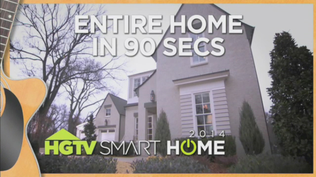 Tour the HGTV Smart Home 2014 in 90 seconds!