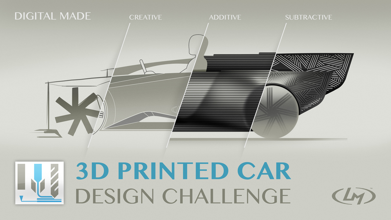 New 3D-Printed Car Design Challenge by Local Motors (localmotors.com/challenges) (Graphic: Business Wire)