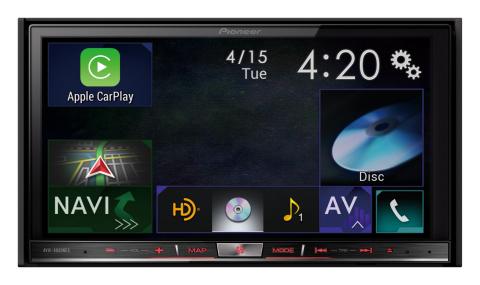 Pioneer AVIC-8000NEX with Apple CarPlay (Photo: Business Wire)