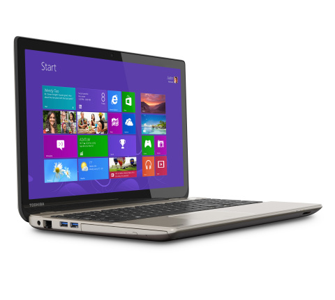 Toshiba's Satellite P55t features one of the world's first 4K Ultra HD display in a laptop and the w ...