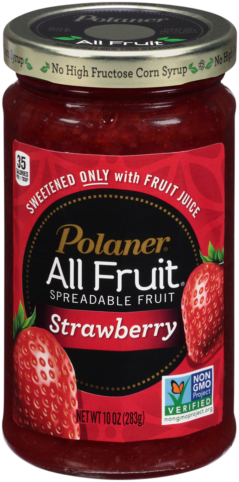 Polaner All Fruit® Re-launches, Now Non-GMO Project Verified (Photo: Business Wire)