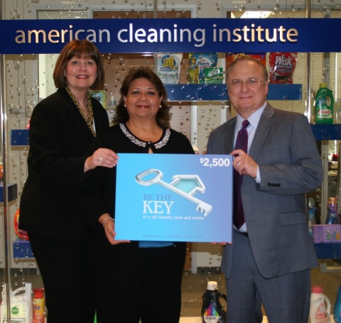 Congratulations to the first-ever KEY Pledge Sweepstakes Winner, Cynthia of Texas! (Photo: Business Wire)
