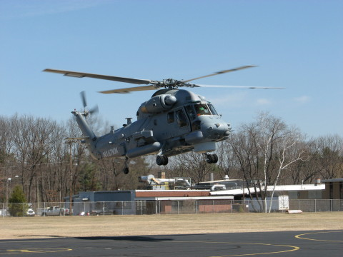 The first New Zealand government NZ SH-2G(I) Super Seasprite helicopter began production flight testing at Kaman's Bloomfield, Connecticut facility. (Photo: Business Wire)