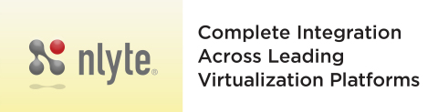 Nlyte Software virtualization connectors correlate management of physical and virtual assets (Graphic: Business Wire)