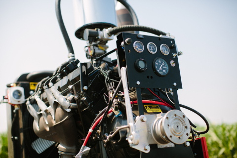 Propane-powered irrigation engines lowered fuel costs and reduced fuel consumption per hour, according to survey results from the Propane Education & Research Council's 2013 Propane Farm Incentive Program. (Photo: Business Wire)