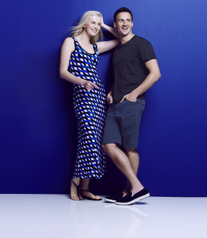 This May, Ryan Lochte and Ireland Baldwin headline Calvin Klein's new campaign for Macy's American Icons (Photo: Business Wire)