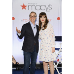 Zooey Deschanel and Tommy Hilfiger attend the launch of the 'To Tommy From Zooey' collection for Macy's American Icons campaign on April 14 at Macy's Herald Square (Photo: Business Wire)