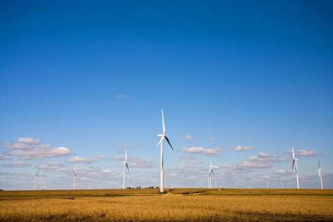 Xcel Energy Grand Meadow Wind Farm (Photo: Business Wire)