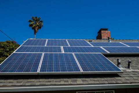Today Redfin, a real estate brokerage, released a list of the top 10 neighborhoods for green homes. The report looked at the number of homes for sale with green features, like solar panels. (Photo: Business Wire)