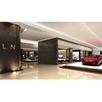 Lincoln dealerships in China are built around the customer, using clean, elegant designs, harmonious colors and quality materials. The overall effect is a warm, inviting environment that customers associate with the living room of a home or a five-star hotel lobby. (Photo: Business Wire)