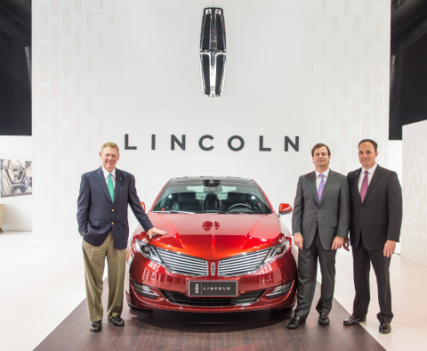lincoln launches in china unique offering for today s