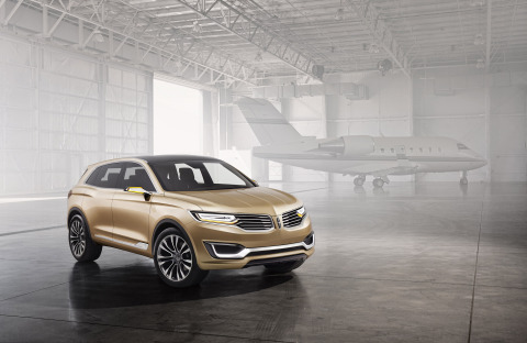 The Lincoln Motor Company unveiled the MKX Concept at Auto China in Beijing. The MKX Concept hints at a global sport utility vehicle that will become the third of four all-new Lincoln vehicles due by 2016. (Photo: Business Wire)