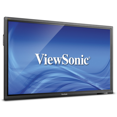ViewSonic is shipping the CDE7051-TL, a 70-inch, six-point simultaneous touch, interactive smart dis ...