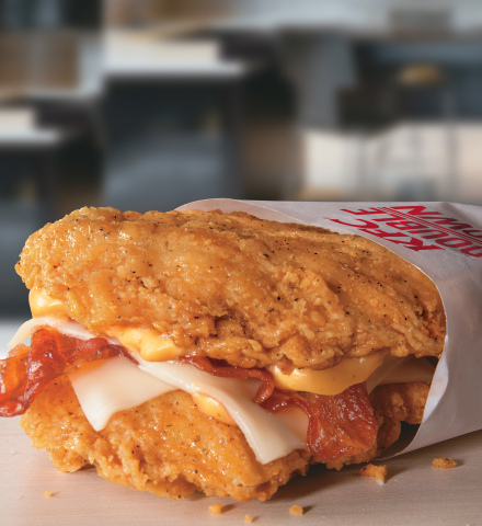 The Double Down(R) Returns to KFC(R) Today. (Photo: Business Wire)