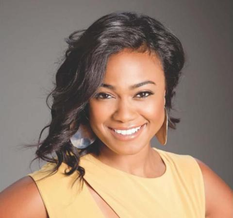 "Actress and singer Tatyana Ali, best known for her role as Ashley Banks on ""The Fresh Prince of Bel-Air,"" will deliver the American InterContinental University (AIU) commencement address in Chicago on Aug. 2, 2014. (Photo: Business Wire)"